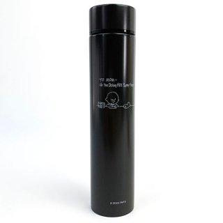 スヌーピー ポケットステンレスボトルロング STUDY CGY スヌーピー ポケトル 水筒 ランチ SNOOPY グレー グッズ