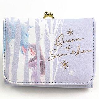 ディズニー エルサ コンパクト財布 BL エルサ 財布 プリンセス アナと雪の女王 Disney コインケース  ブルー  (MCOR)