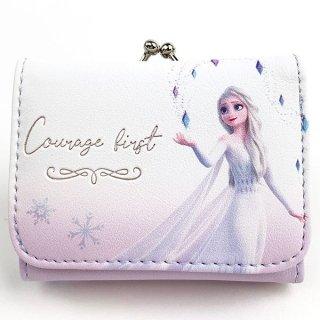 ディズニー エルサ コンパクト財布 WH エルサ 財布 プリンセス アナと雪の女王 Disney コインケース  ホワイト  (MCOR)