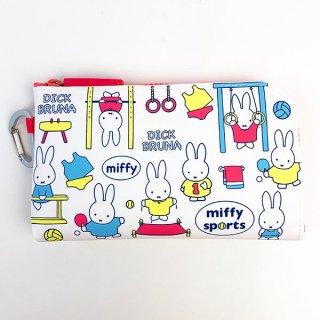 miffy ミッフィー NUU-R スポーツ ポーチ ホワイト グッズ(MCD)