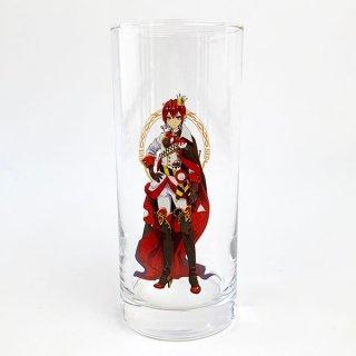 Disney リドル ロンググラス リドル ツイステ ディズニー ツイステッドワンダーランド コップ グラス 食器 グッズ レッド(MCD)