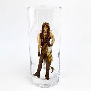 Disney レオナ ロンググラス レオナ ツイステ ディズニー ツイステッドワンダーランド コップ グラス 食器 グッズ イエロー(MCD)