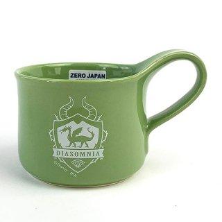 ツイステッドワンダーランド ディアソムニア寮 カフェマグ マグカップ ツイステ 緑 グッズ  (MCOR)(MCD)