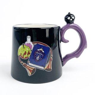 ツイステッドワンダーランド ポムフィオーレ寮 ハンドルマグ マグカップ ツイステ 紫 グッズ(MCD)
