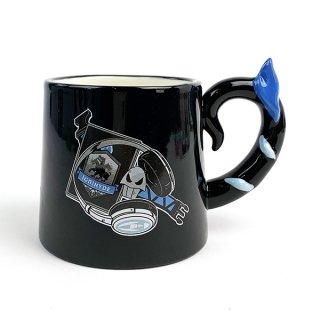 ツイステッドワンダーランド イグニハイド寮 ハンドルマグ マグカップ ツイステ 青 グッズ(MCD)