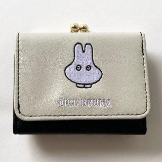 miffy おばけ コンパクト財布 GY おばけミッフィー 財布 ミニ財布 グッズ グレー  (MCOR)