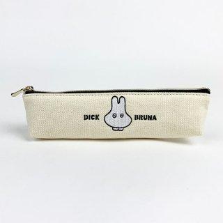 miffy おばけ スリムペンポーチ WH おばけミッフィー ペンケース 筆箱 グッズ ホワイト  (MCOR)