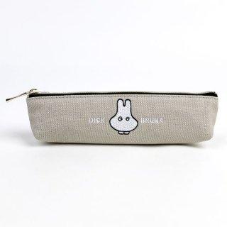 miffy おばけ スリムペンポーチ GY おばけミッフィー ペンケース 筆箱 グッズ グレー  (MCOR)