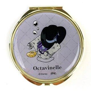 ディズニー ツイステッドワンダーランド コンパクトミラー オクタヴィネル寮 ツイステ Disneyミラー パープル  (MCOR)