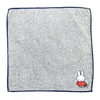 ミッフィー 刺繍M/T WH  ミッフィー ミニタオル ミニハンカチ タオルハンカチ タオル 白 グッズ