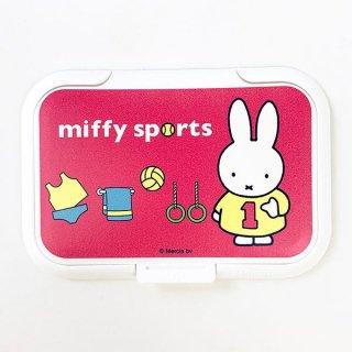 ミッフィー ビタット PKセンター スポーツ MF ウエットシートのフタ フタ ベビー 入園  ピンク グッズ 日本製