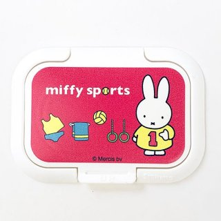 ミッフィー ビタットS PKセンター スポーツ MF ウエットシートのフタ フタ ベビー 入園  ピンク グッズ 日本製