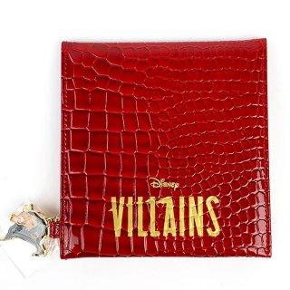 ディズニー スカー ディズニー ヴィランズシリーズ 折り畳みミラー スカー Disney 鏡 ミラー ライオンキング グッズ オレンジ