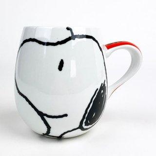 店内セール開催中!10%オフ対象商品 PEANUTSスヌーピーフェイスマグ SN フェイスマグカップ(MCOR)