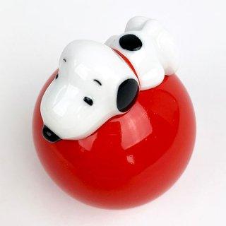 PEANUTS スヌーピー オキアガリコボシ スヌーピー インテリア おもちゃ レッド