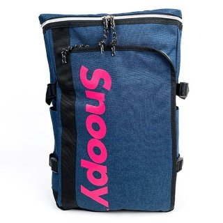 スヌーピー ボックスリュック NV ロゴスヌーピー バッグ バックパック ボストンリュック ボストン 黒 グッズ  (MCOR)