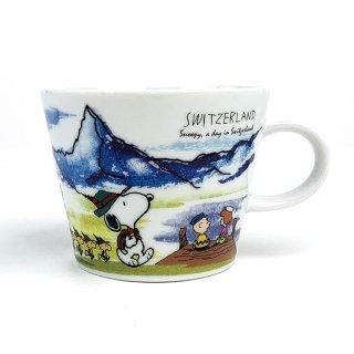 店内セール開催中!10%オフ対象商品 PEANUTS スヌーピー スヌーピー マグカップ スイス コップ マグ 食器 グッズ カップ