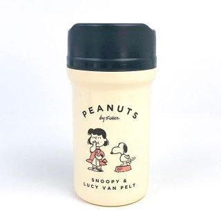 店内セール開催中!10%オフ対象商品 PEANUTS スヌーピー スヌーピー カフェマグボトル  ランチ 保温ボトル マイボトル マグボトル アイボリー