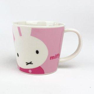 店内セール開催中!10%オフ対象商品 ミッフィー miffy ミッフィーハピネスマグ ピンクM マグカップ 食器 キッチン コップ グッズ 日本製