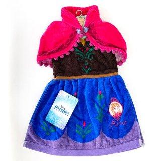 店内セール開催中!20%オフ対象商品 ディズニー アナ ディズニー ドレッシー ドレスタオル アナ プリンセス Disney タオル ベビー アナと雪の女王