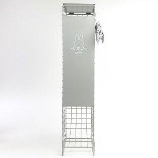 MIFFY ミッフィー Dick Bruna トイレットペーパーストッカー 5ロール トイレ モノトーン シンプル お顔 ホルダー グレー