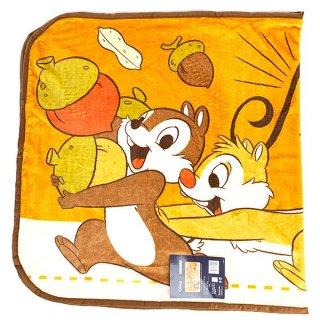 店内セール開催中!20%オフ対象商品 Disney チップ&デール ロングブランケット 「わんぱくなふたり」 ひざ掛け 毛布 ブランケット グッズ