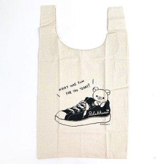 SAN-X リラックマ エコマルシェ スニーカー リラックマ エコバッグ バッグ お買い物袋