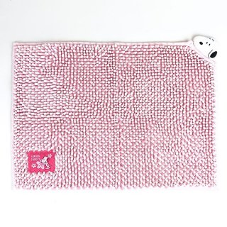 PEANUTS スヌーピー  MICRO MOLE BATH MAT バスマット マイクロモール 吸水 速乾 お風呂マット ピンク グッズ