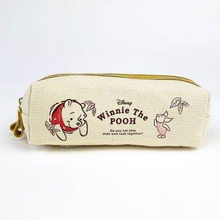 店内セール開催中!30%オフ対象商品 ディズニー プー Winnie The POOH Pooh Series Wファスナーポーチ ポーチ バッグ 財布 イエロー グッズ
