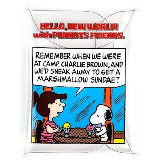 <img class='new_mark_img1' src='https://img.shop-pro.jp/img/new/icons15.gif' style='border:none;display:inline;margin:0px;padding:0px;width:auto;' />PEANUTS スヌーピー SNOOPY クリアマルチケースLL BL POP ケース ポーチ 小物入れ ブルー グッズ  (MCOR)