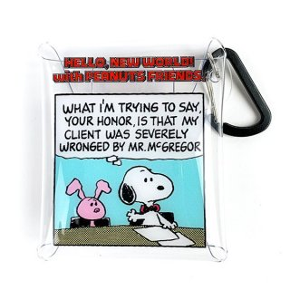 <img class='new_mark_img1' src='https://img.shop-pro.jp/img/new/icons15.gif' style='border:none;display:inline;margin:0px;padding:0px;width:auto;' />PEANUTS スヌーピー SNOOPY クリアマルチケースSS GR POP マルチケース ケース 小物入れ グリーン  (MCOR)