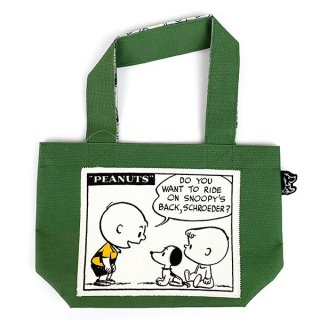 <img class='new_mark_img1' src='https://img.shop-pro.jp/img/new/icons15.gif' style='border:none;display:inline;margin:0px;padding:0px;width:auto;' />PEANUTS スヌーピー ミニトート SN 50's カーキ ミニトートバッグ バッグ  グリーン グッズ