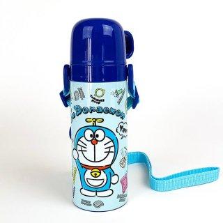 I'm Doraemon ドラえもん ステンレス製携帯用まほうびん 水筒 ボトル ベビー  ブルー グッズ
