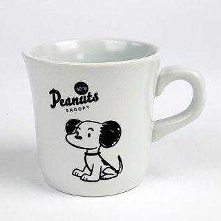 PEANUTS スヌーピー メモリアルマグカップ 50's スヌーピー マグ コップ ホワイト グッズ
