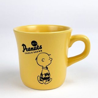 <img class='new_mark_img1' src='https://img.shop-pro.jp/img/new/icons15.gif' style='border:none;display:inline;margin:0px;padding:0px;width:auto;' />PEANUTS チャーリーブラウン メモリアルマグカップ 80's チャーリーブラウン マグ コップ イエロー グッズ