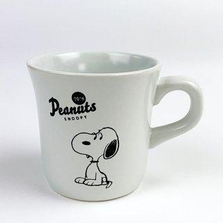 PEANUTS スヌーピー メモリアルマグカップ 70's スヌーピー マグ コップ ホワイト グッズ