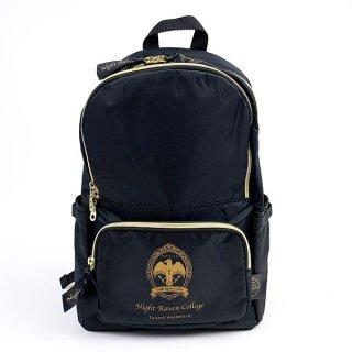 ツイステッドワンダーランド ツイステ ナイトイレブンカレッジ リュック ツイステ バッグ 鞄 ナップザック ブラック