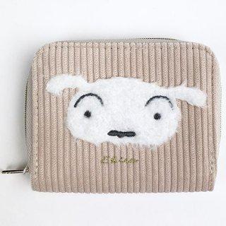 クレヨンしんちゃん シロ もこもこシロ コインケース 財布 ポーチ ケース 小物入れ ホワイト グッズ  (MCOR)