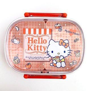 サンリオ キティ Hello Kitty ハローキティ アップル ランチボックス ランチ 弁当箱 キッチン 食器  ベージュ グッズ