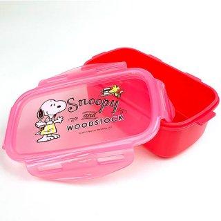 PEANUTS スヌーピー キーピングケース PK お弁当箱 ランチボックス ピンク グッズ