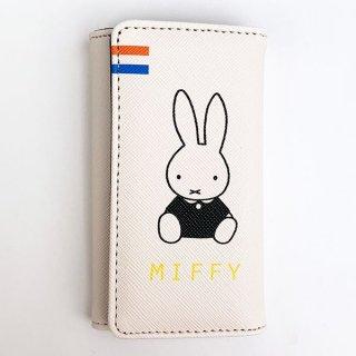 MIFFY ミッフィー miffy ワレットシリーズ キーケース ポーチ ケース 小物入れ 財布 キー 鍵 通勤 通学 ホワイト グッズ