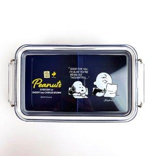 PEANUTS スヌーピー コンテナランチボックス(仕切付) お弁当箱 ランチ用品 グッズ 日本製