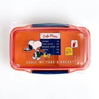 PEANUTS スヌーピー CAFE ランチボックス お弁当箱 ベビー レッド グッズ 日本製