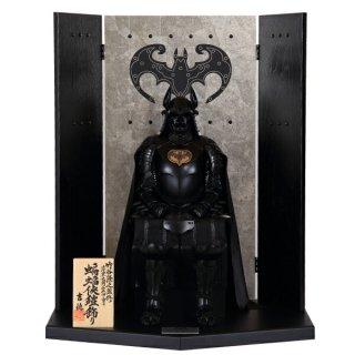 受注生産1〜3カ月程度:蝙蝠侠鎧飾り(こうもりきょうよろいかざり)バットマン  BATMAN【代引決済不可】