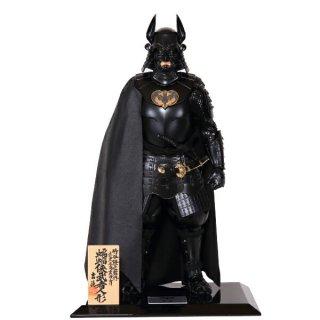 受注生産1〜3カ月程度:蝙蝠侠武者人形(こうもりきょうむしゃにんぎょう)バットマン  BATMAN【代引決済不可】