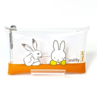 ミッフィー 鳥獣戯画 miffy×鳥獣戯画 クリアマルチケースS 隣人 ケース 小物入れ グッズ  (MCOR)