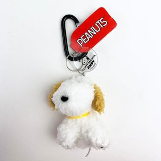 <img class='new_mark_img1' src='https://img.shop-pro.jp/img/new/icons15.gif' style='border:none;display:inline;margin:0px;padding:0px;width:auto;' />PEANUTS スヌーピー SNOOPY'S FLUFFY BROTHER ANDY アンディ カラビナマスコット ぬいぐるみ キーホルダ