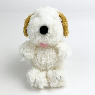 <img class='new_mark_img1' src='https://img.shop-pro.jp/img/new/icons15.gif' style='border:none;display:inline;margin:0px;padding:0px;width:auto;' />PEANUTS スヌーピー SNOOPY'S FLUFFY BROTHER ANDY アンディ マスコット ぬいぐるみ ホワイト