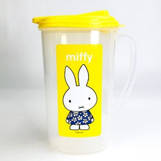 <img class='new_mark_img1' src='https://img.shop-pro.jp/img/new/icons15.gif' style='border:none;display:inline;margin:0px;padding:0px;width:auto;' />ミッフィー miffy ウォーターポット キッチン インテリア ポット 水 ピッチャー 水差し イエロー グッズ
