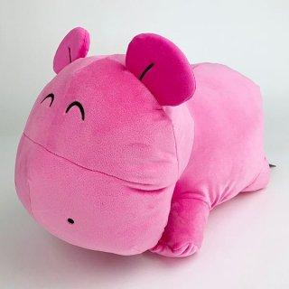 たべっ子どうぶつ かば たべっ子どうぶつ もちもちクッション かば ぬいぐるみ クッション 枕 カバ ピンク グッズ